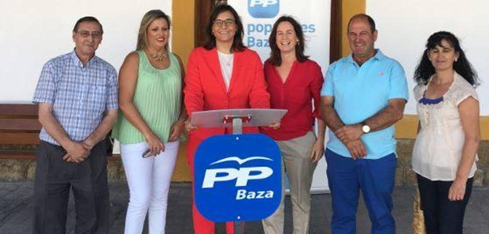 """El PP subraya el """"firme compromiso"""" del Gobierno para recuperar la línea Guadix-Baza-Lorca"""