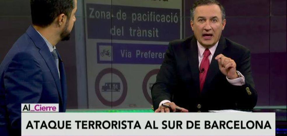 Un informativo mexicano confunde a Puigdemont con un terrorista