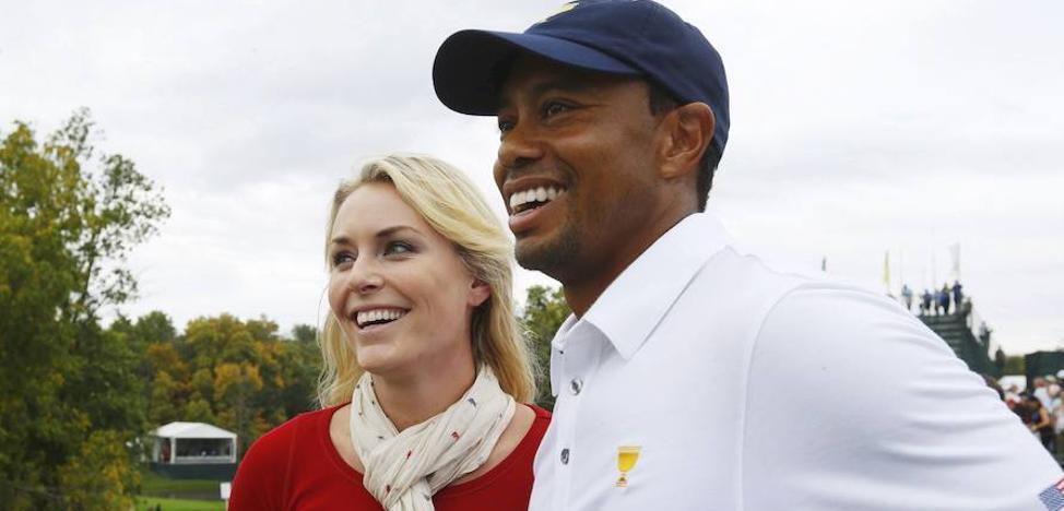 Filtran fotos íntimas de Tiger Woods, Lindsey Vonn y Miley Cyrus