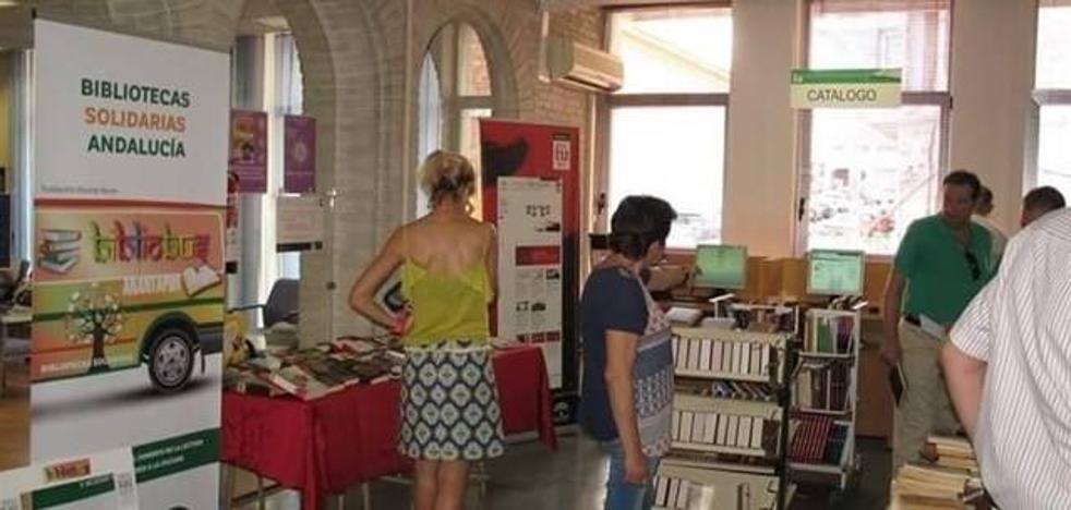 La Biblioteca Provincial recibe 5.000 libros para crear un Bibliobús en la India con la Fundación Vicente Ferrer