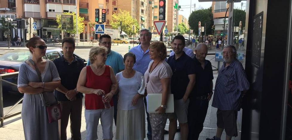El PP exige soluciones a los ruidos del metro a su paso por el Zaidín