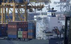 El déficit comercial sube un 40,7% en la primera mitad de 2017