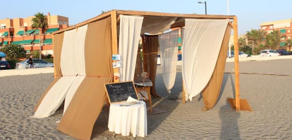 Otra forma de relajarse en la playa
