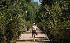 Continúa el calor intenso en Granada: hoy estará en aviso por temperaturas máximas de hasta 40º