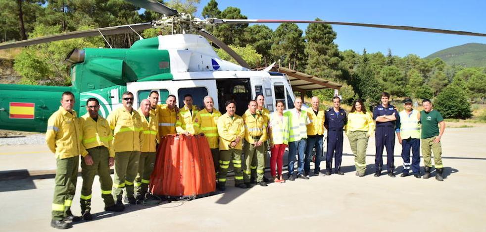 El Infoca llega al ecuador de la campaña estival con 102 intervenciones en Granada