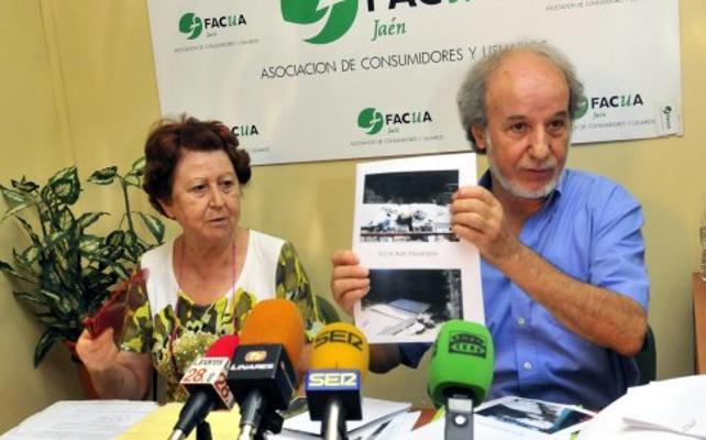 Facua Jaén denuncia el estado de algunos patios del cementerio