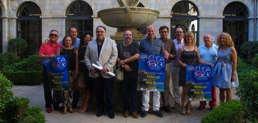 El concierto de Andaraje abre la 45 Cita con la Música Folk de Jódar