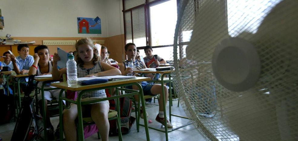 El nuevo curso trae auditorías de calor en cada centro educativo tras actuar de urgencia en 15