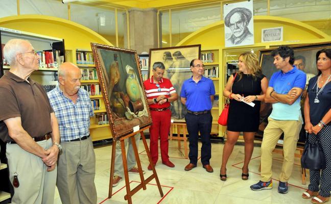 La pintura de Paco Baños en Linares