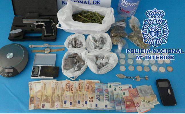 Detienen en Linares a dos hombres en sendas operaciones contra la droga