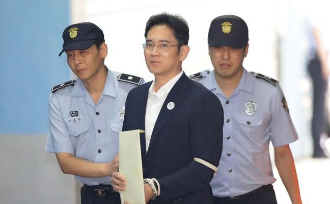 El heredero de Samsung, condenado a 5 años de cárcel por el caso 'Rasputina'