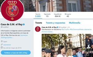 El Rey y los Mossos coprotagonizan en las redes sociales la manifestación