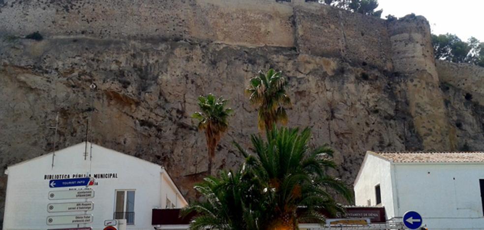 Una mujer y su bebé de 8 meses sobreviven tras caer desde lo alto del castillo de Denia
