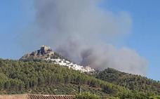 Extinguido el incendio de Segura de la Sierra 25 días después de declararse