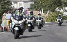La llegada de la Vuelta Ciclista contará en Granada con un dispositivo de casi 300 agentes