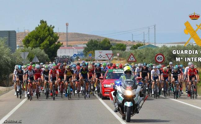 La Guardia Civil tiene preparado un dispositivo de cerca de 200 agentes para La Vuelta