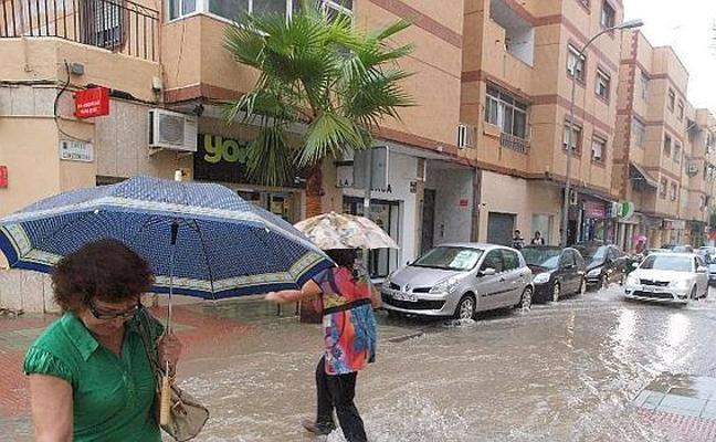 Continúan las intensas lluvias en Almería: hasta este miércoles, aviso naranja