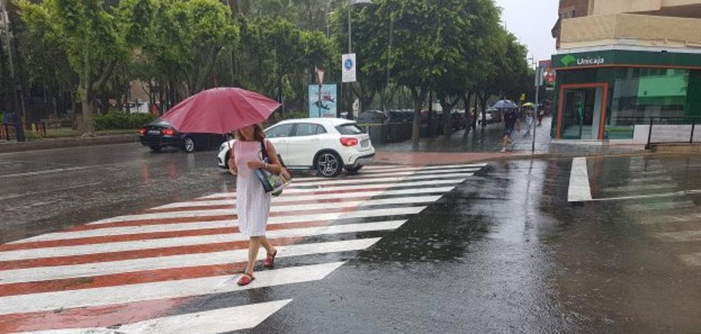 La capital registra el día más lluvioso de un mes agosto de los últimos cincuenta años