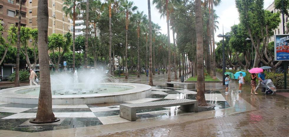 Continúa la 'alerta naranja' durante todo el día en Almería
