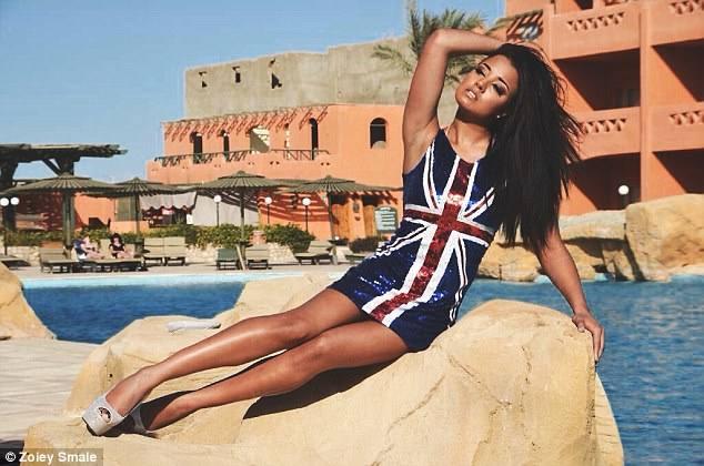 Las fotos de Zoeiy Smale, miss Reino Unido