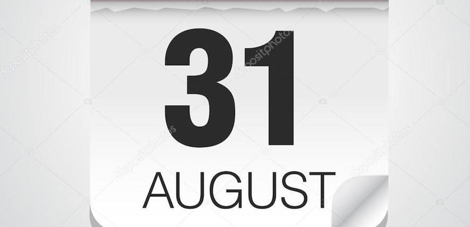 Los 31 Días de Agosto, uno a uno