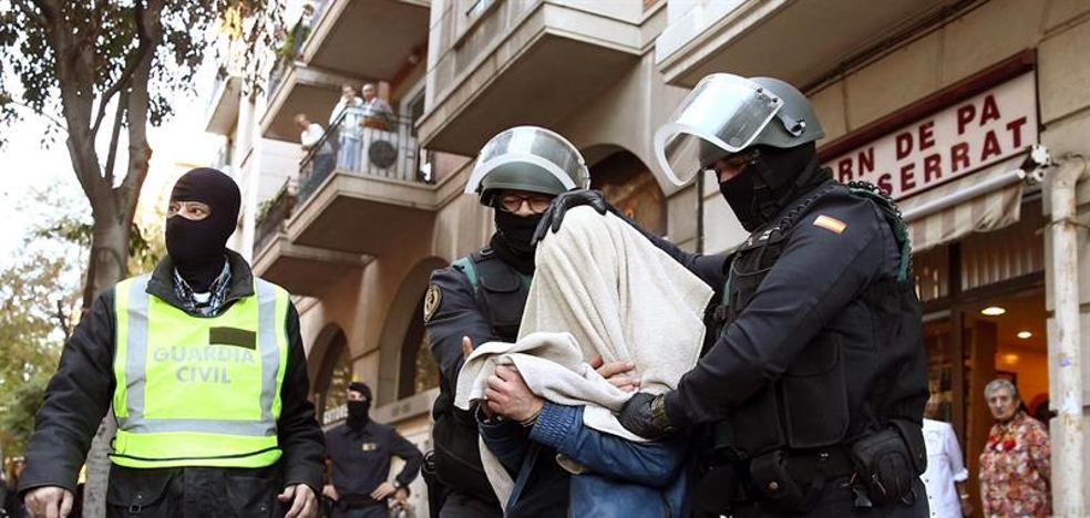 La Guardia Civil detiene en Melilla a dos hombres por amenazas yihadistas de atentados