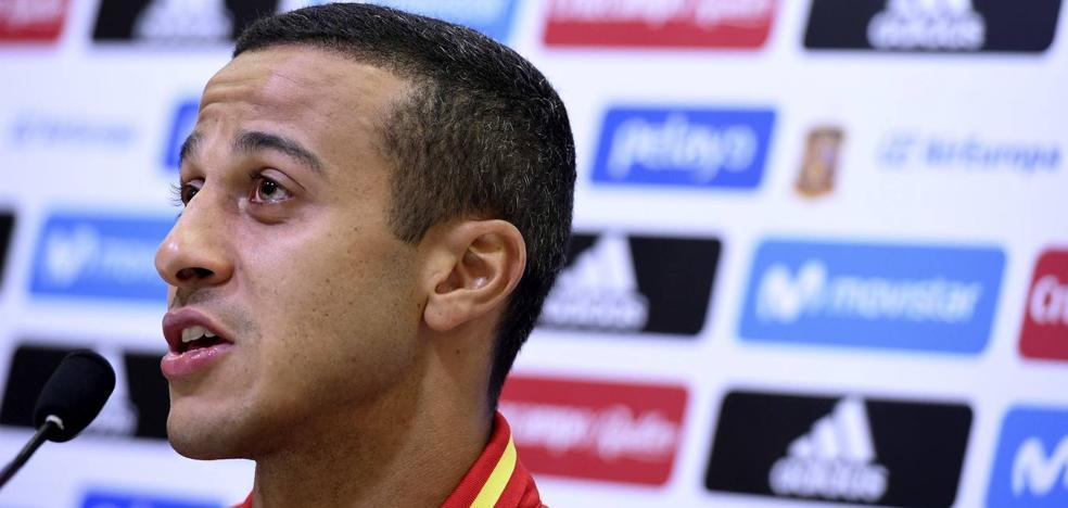 Thiago: «Lopetegui es detallista, sabemos cómo defender a Italia»