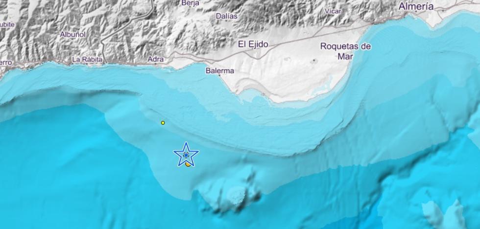 Terremoto en la costa de Almería