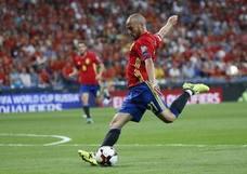 España, con '9' y con 'falso 9'