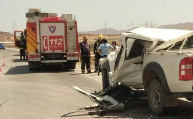Las vías secundarias registran el 75% de los fallecidos este año en Almería