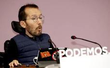 Echenique deja su escaño en las Cortes de Aragón para centrarse en Podemos