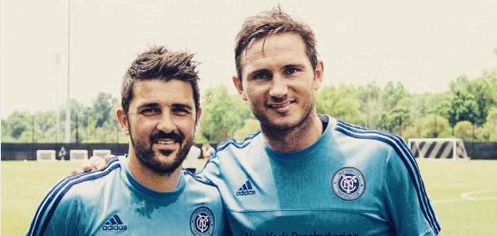 Lampard: «Villa es insaciable; no parará hasta llegar a los 100»