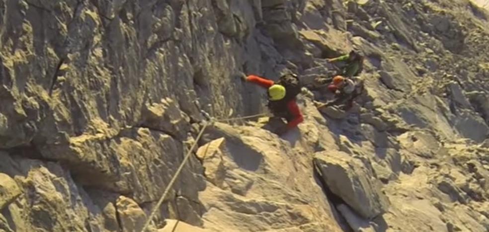 Así es el Cervino, la zona de los Alpes en la que buscan al granadino desaparecido