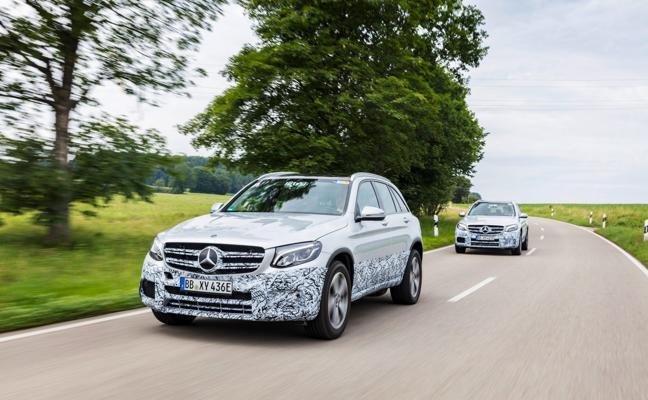 Mercedes GLC F-Cell, más cerca de la producción
