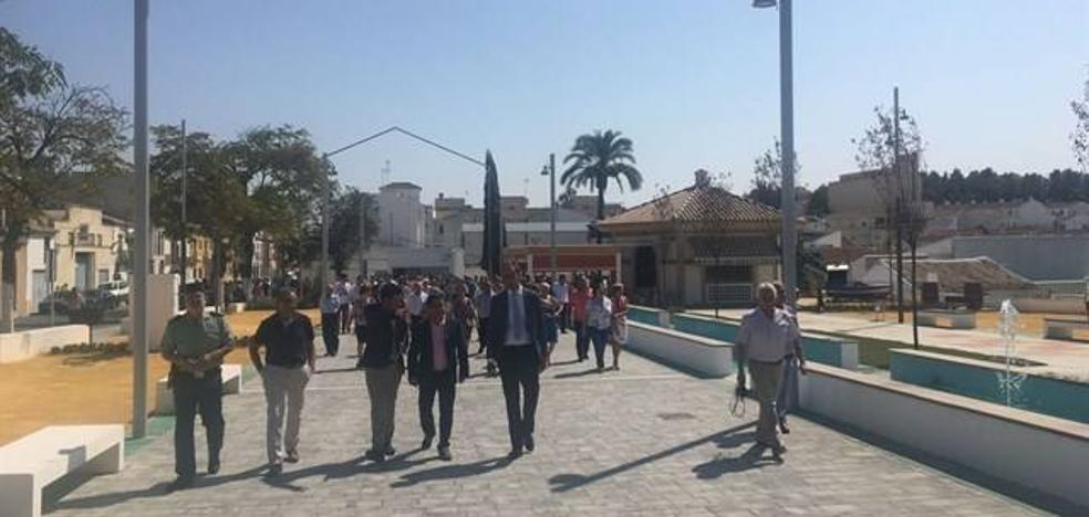 Arjona inaugura su nuevo recinto ferial tras remodelar el Paseo de Andalucía
