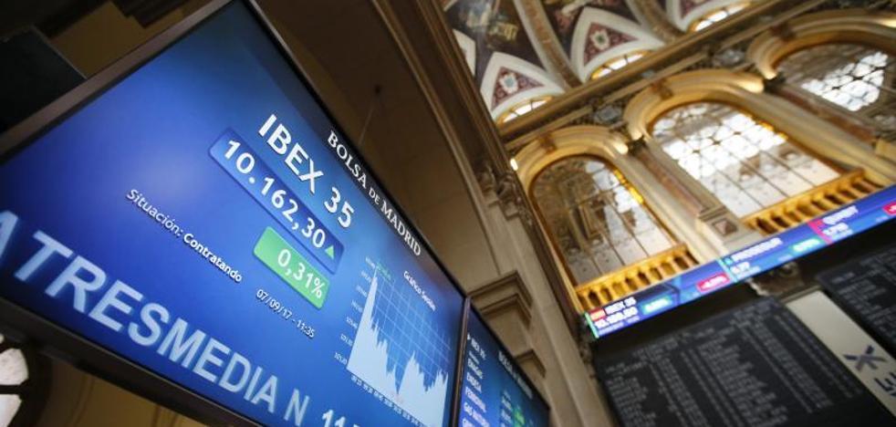 El Ibex rebota por un suspiro: mantiene los 10.100