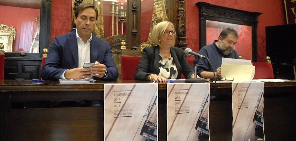 Ópera, jóvenes talentos y autores consagrados, en el auditorio Manuel de Falla