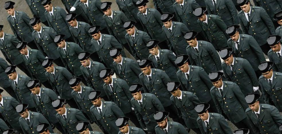 Doce guardias civiles heridos durante unas pruebas de tiro en Logroño