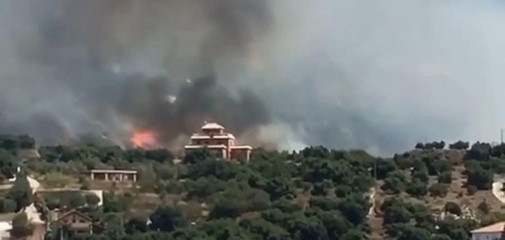 El Infoca da por controlado el incendio de Los Guájares