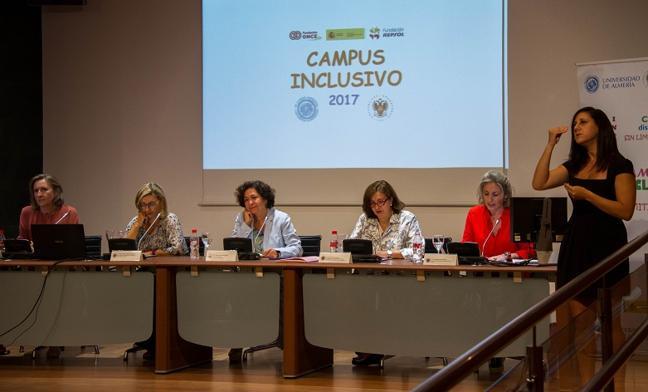 La UGR y la UAL clausuran en Granada el Campus Inclusivo Interuniversitario 2017