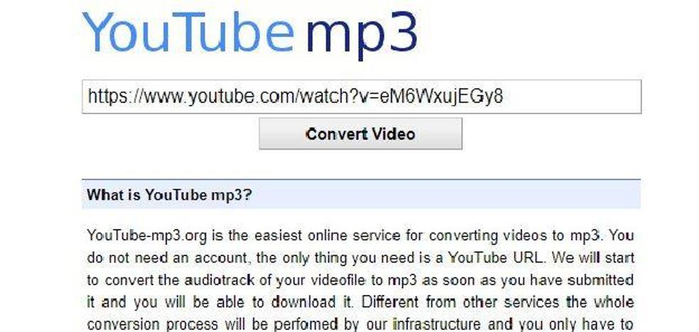 Youtube-mp3 cierra y estas son las tres alternativas