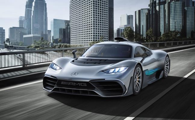 Mercedes Project ONE, un fórmula 1 carrozado