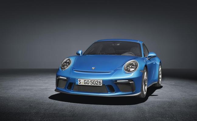 Porsche 911 GT3 Touring, estreno en Fráncfort