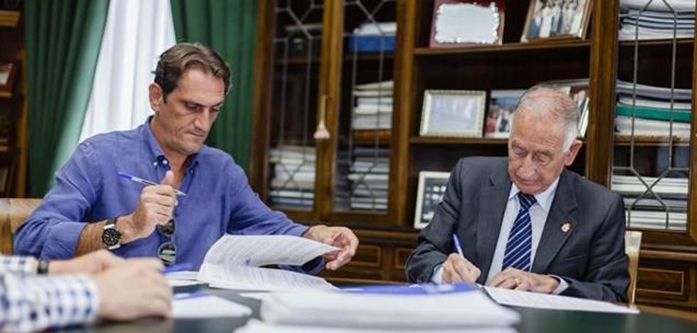 Diputación y Albaida Infraestructuras firman el contrato de obras del Hospital Provincial