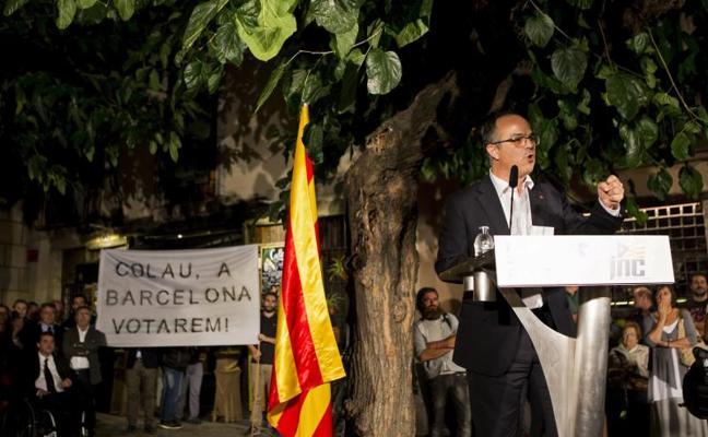 Turull: «Barcelona votará porque estaremos donde no esté el Ayuntamiento»