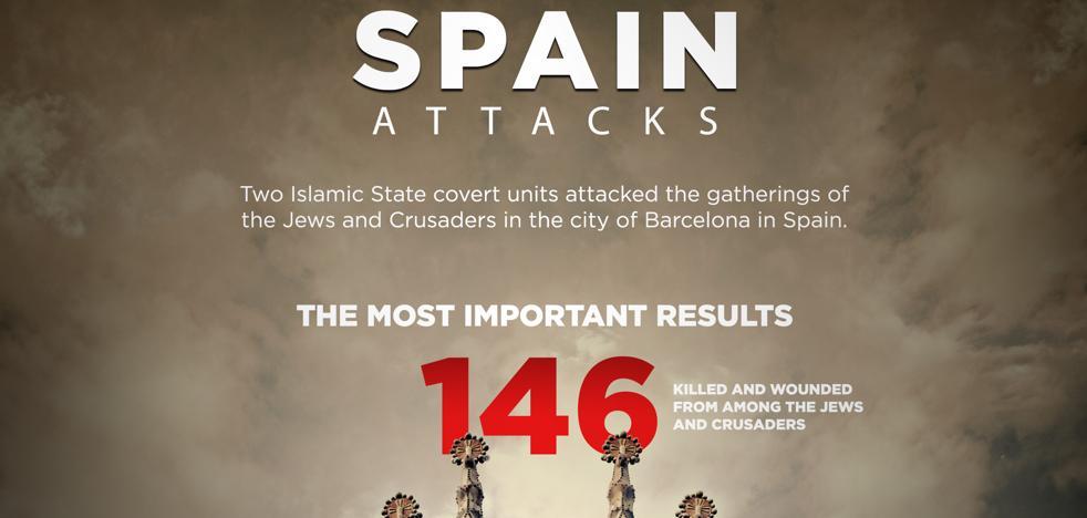 El Daesh reafirma que atacó España porque no aprendió del 11-M