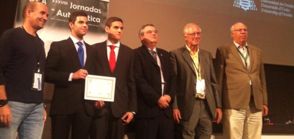 Alumnos de la UAL triunfan en las XXXVIII Jornadas de Automática de Gijón