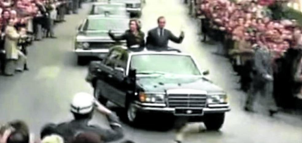 39.500 euros por el Mercedes blindado del rey Juan Carlos