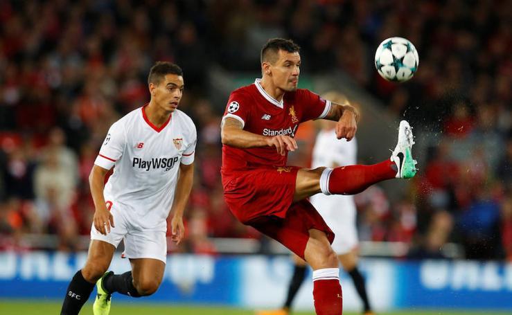 Liverpool-Sevilla, en imágenes
