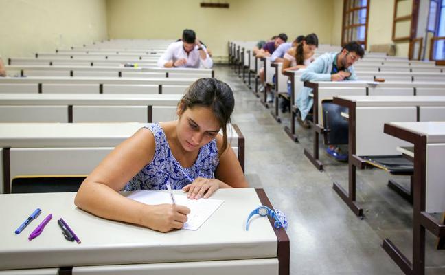 Los últimos exámenes de septiembre en la UGR